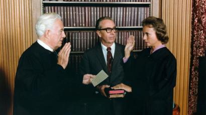 "The ""young cowgirl"" who became the first woman US Supreme Court justice."