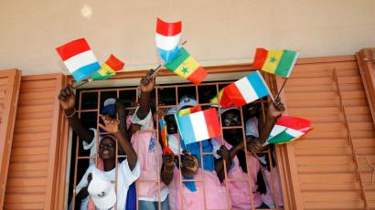 French fifth most spoken language in the world, particularly in Africa