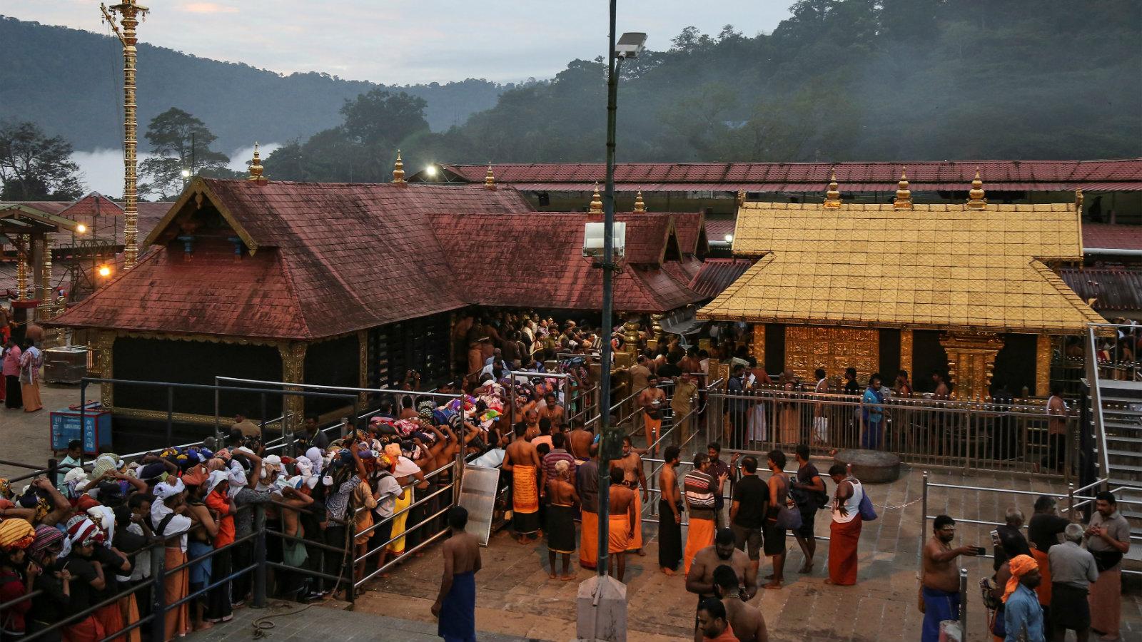 India-Religion-Sabarimala