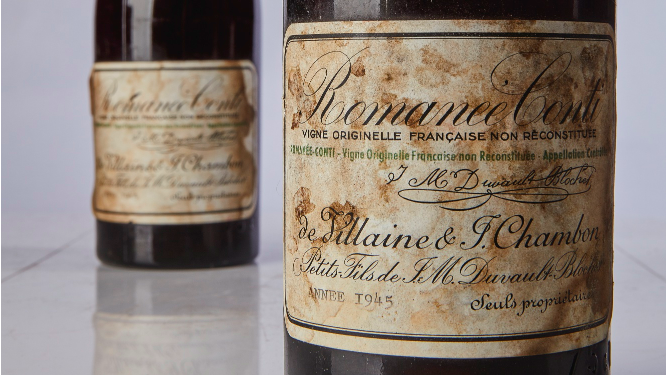 Sothebys just sold the five most expensive bottles of wine ever