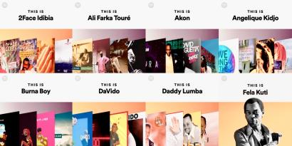 Spotify Africa hub launches with Afrobeats and afro-pop