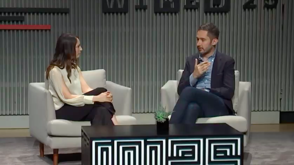 Now that Instragram's Kevin Systrom is free, he's talking