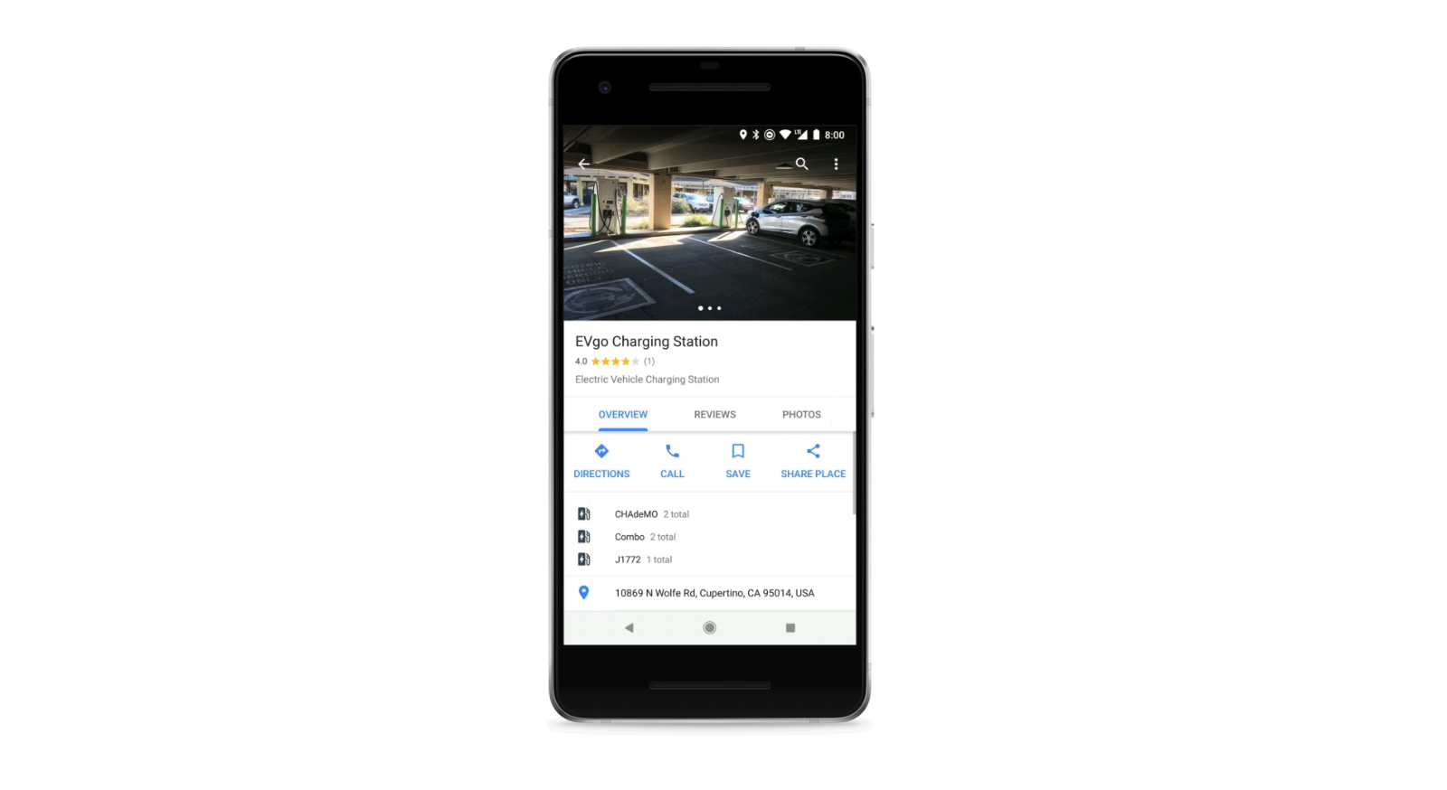 Google Maps Will Now Navigate To Your Favorite Electric Car Charging Station