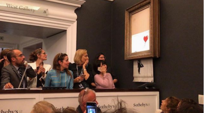 banksy girl with a balloon