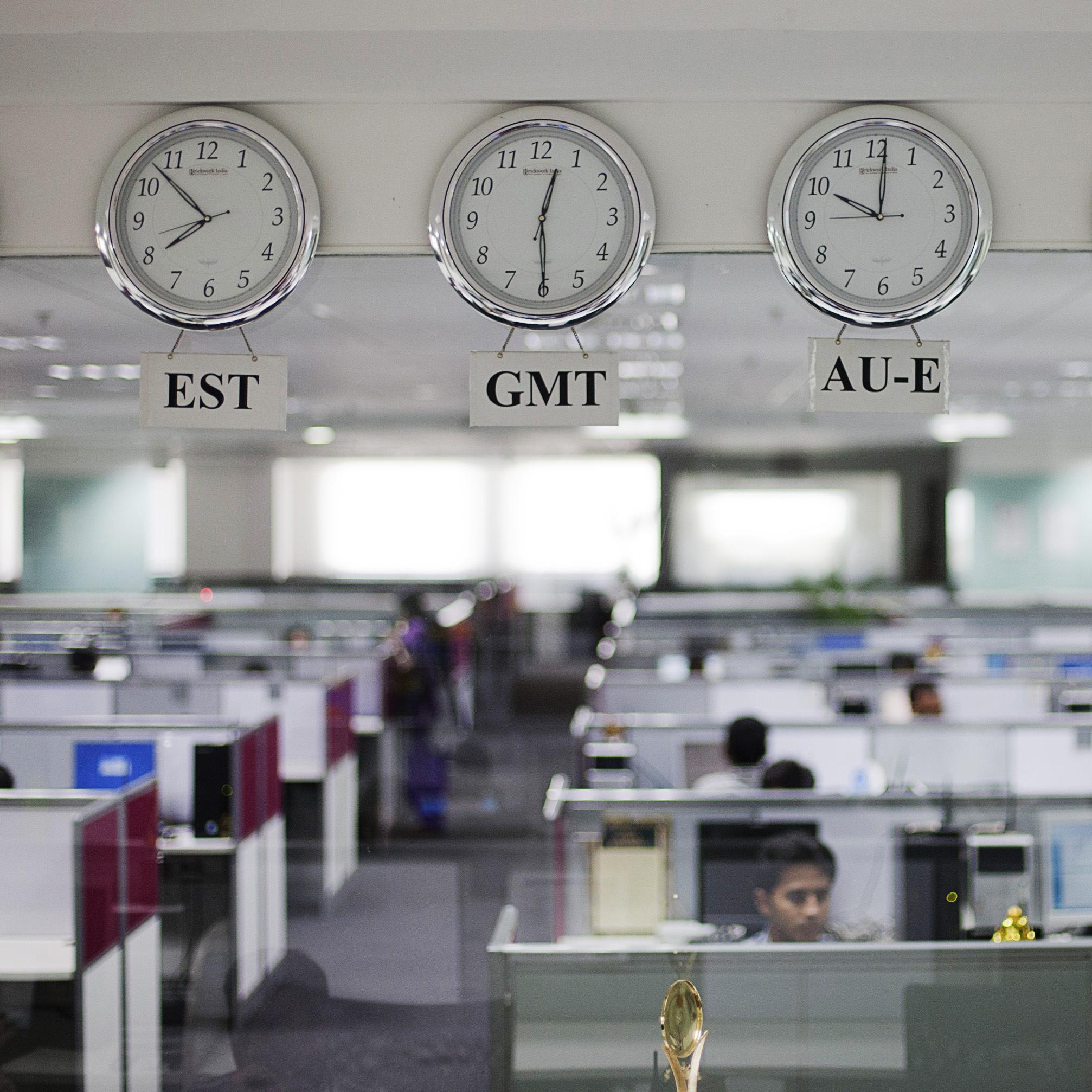 clocks in india