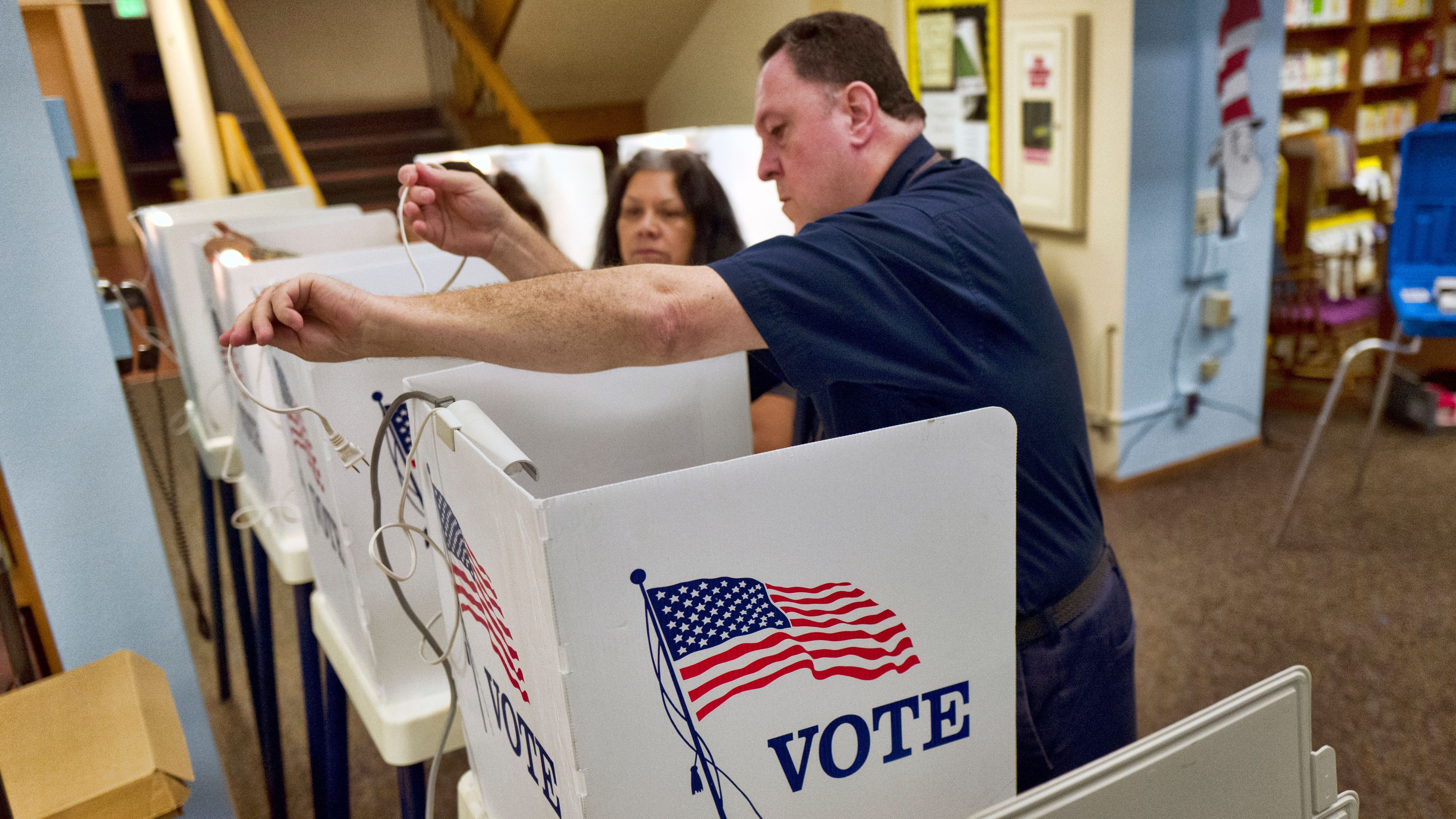 Tuesday election day in California