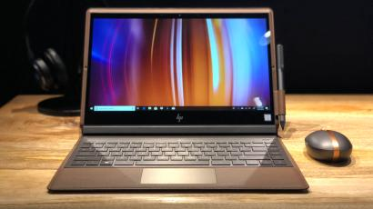 186f3a7beb78 HP's new Spectre Folio laptop is made out of real leather — Quartz