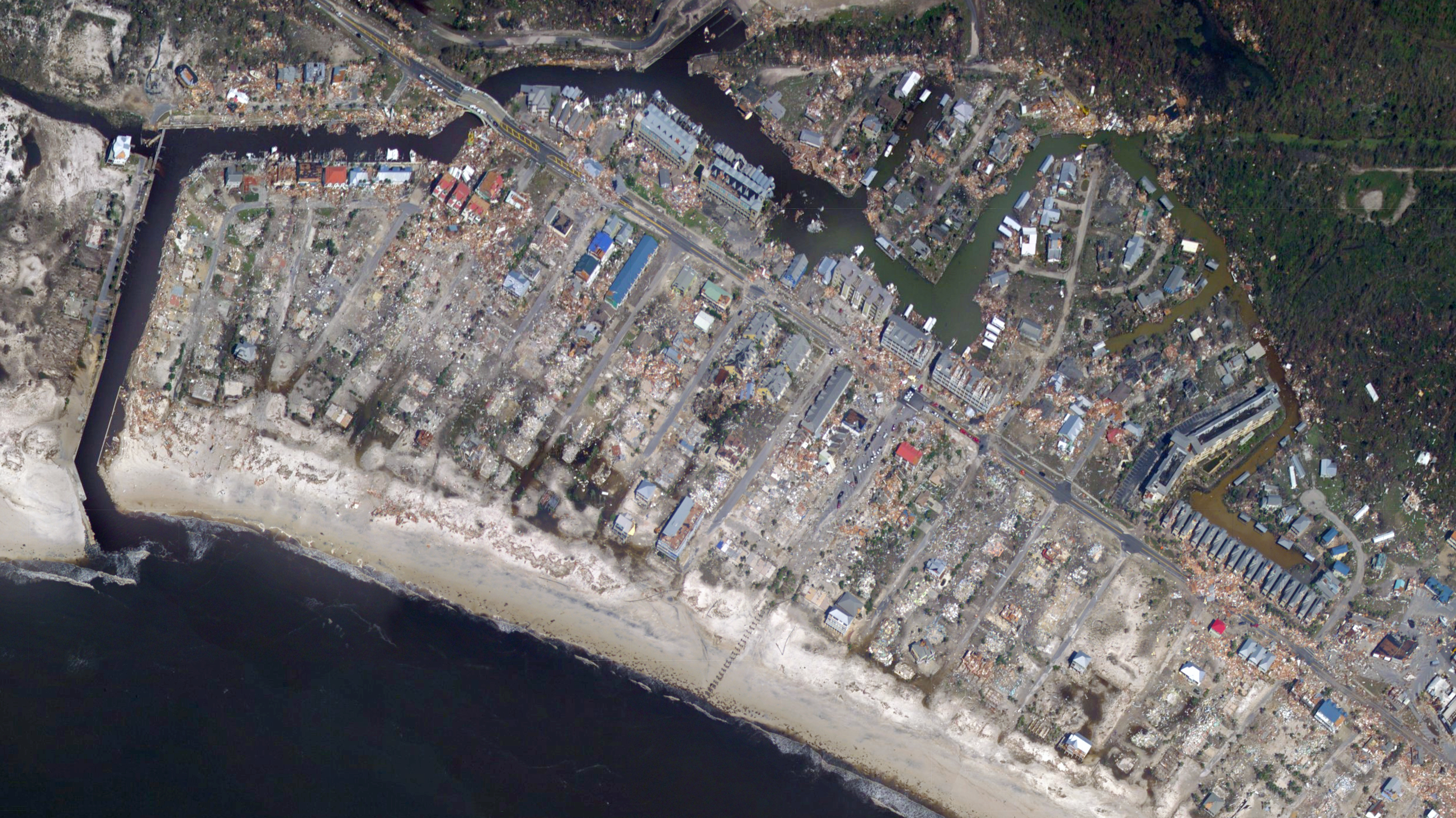 Images of panama city beach florida after hurricane michael