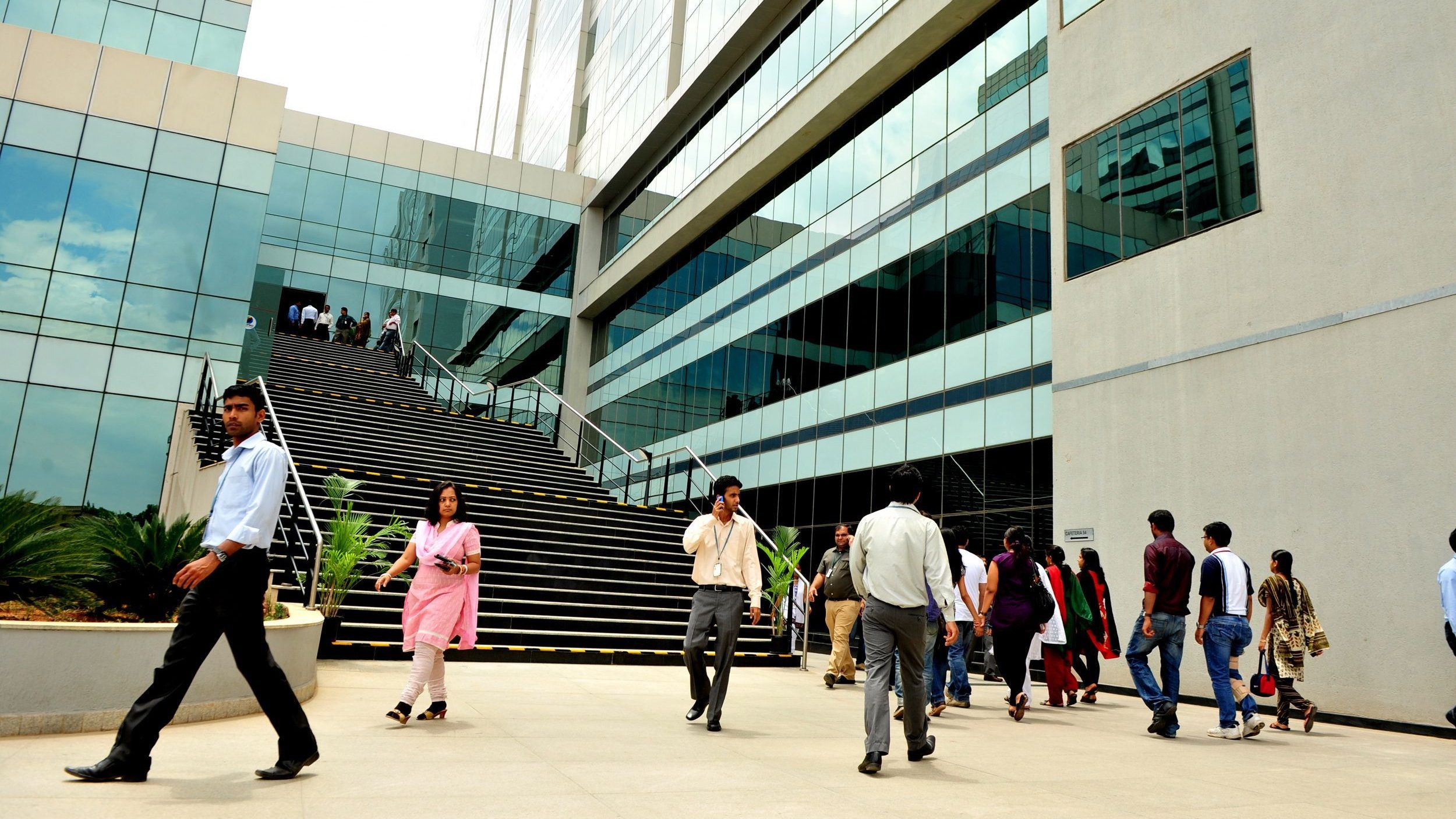 Infosys is crowdsourcing employee feedback to improve its managers