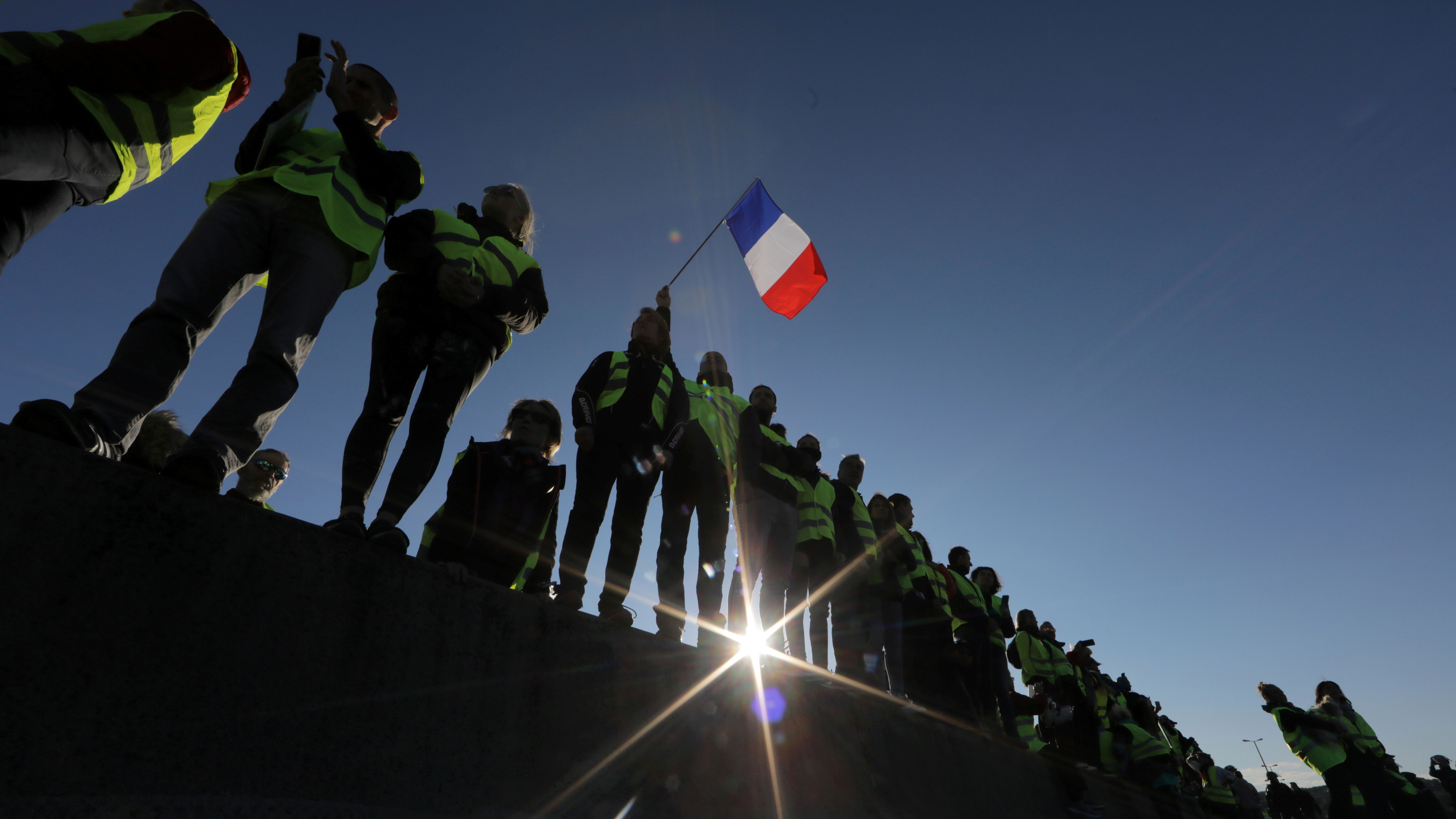 yellow vests protests in france show the price of green policies