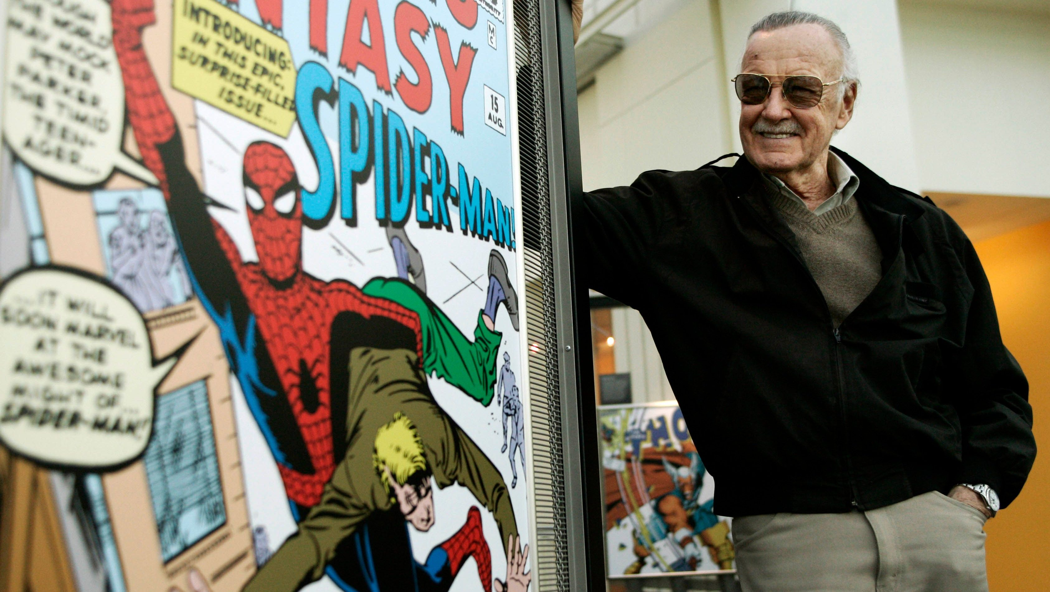 """The Latin word Stan Lee made his life motto: """"Excelsior!"""""""