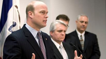 """Whitaker said Trump Russia could be a """"Witch hunt"""""""