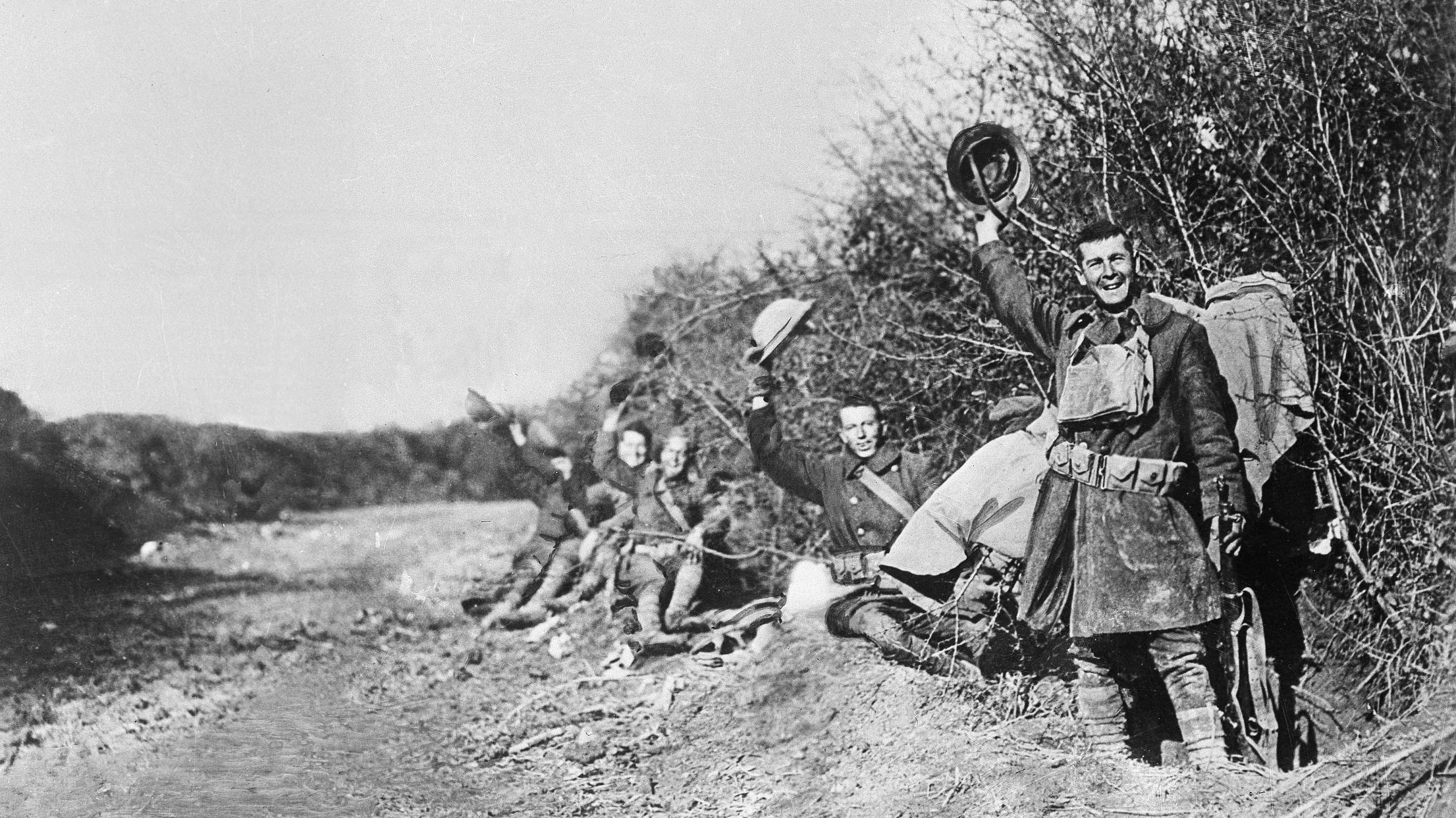 This is what it sounded like the moment the guns of World War I went silent