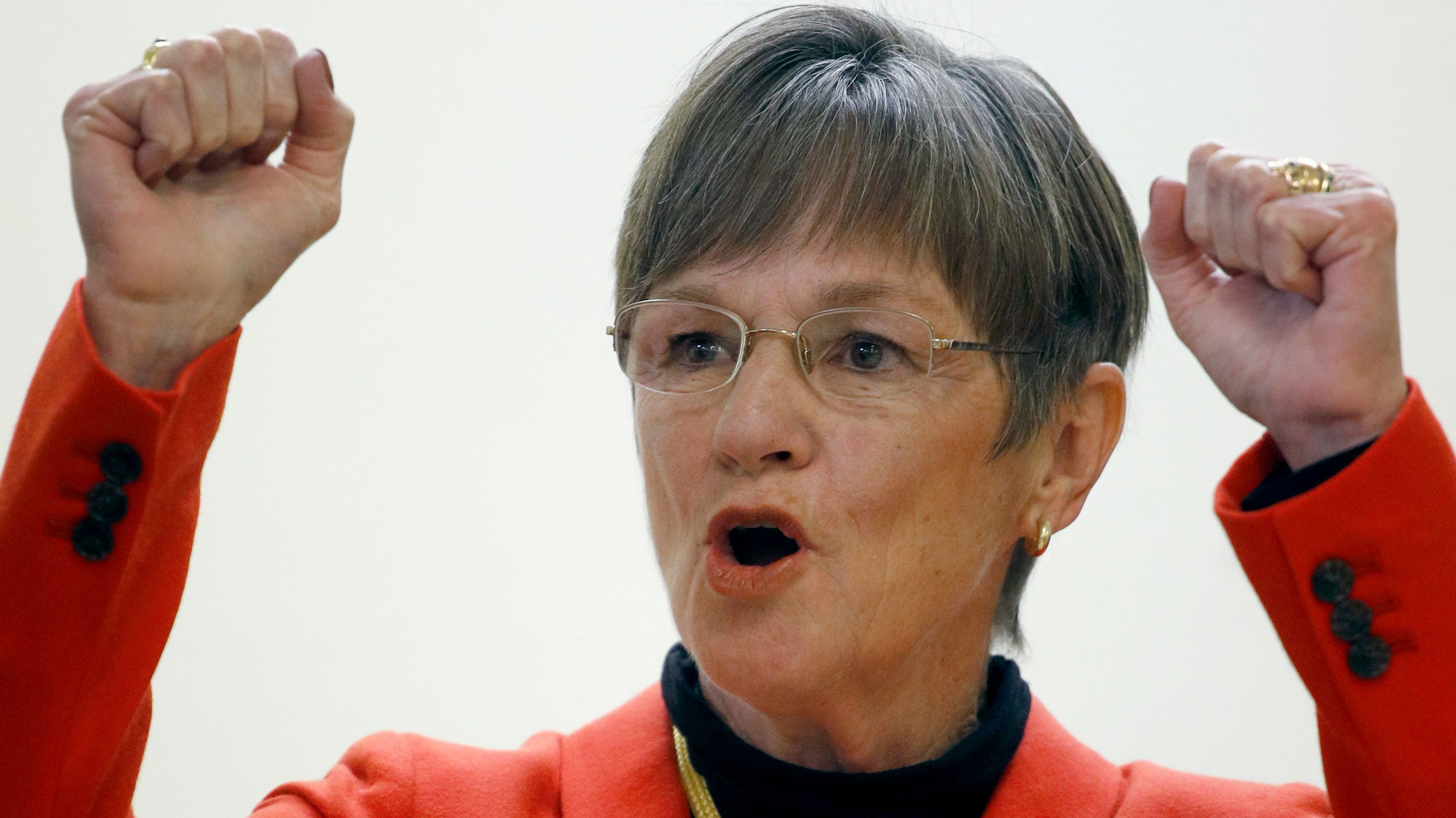 Democratic candidate for Kansas Governor, Laura Kelly