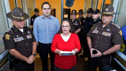 Anti-gay marriage Kentucky clerk Kim Davis lost her re-election bid.