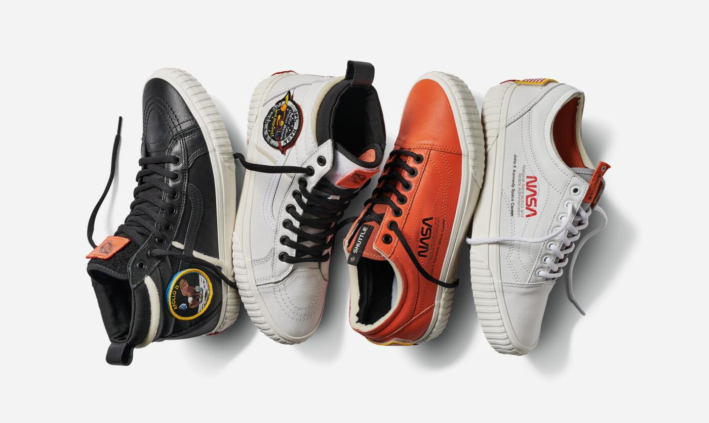 All Color Vans: From Vans To Heron Preston, NASA Is All Over Fashion Right