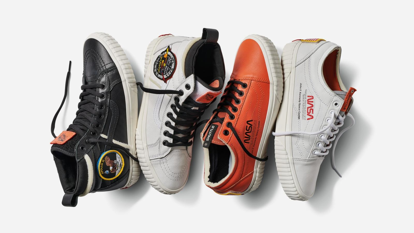 From Vans to Heron Preston, NASA is all over fashion right