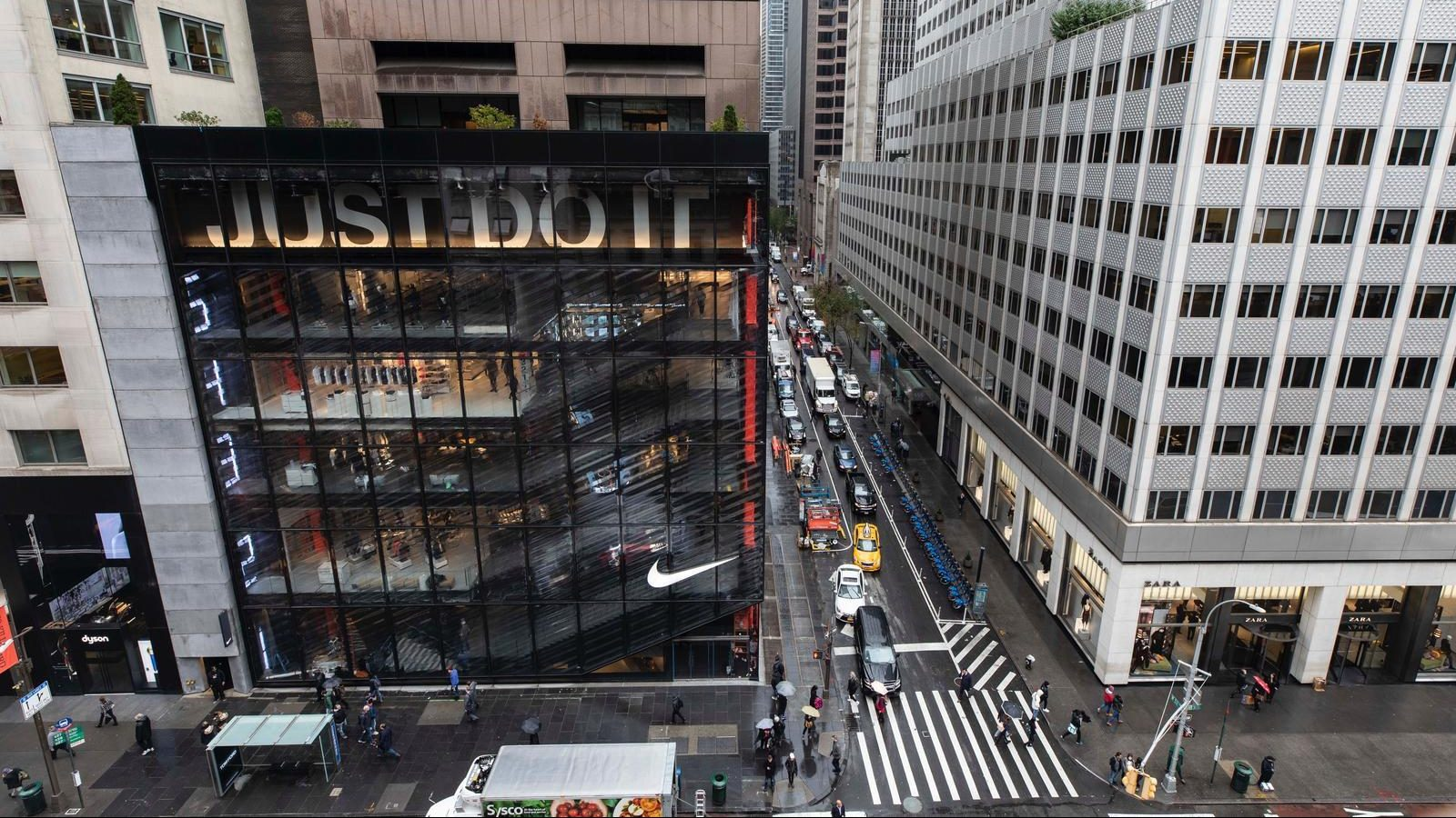 9a01402126a6 Nike s and Levi s new stores in New York are retail as immersive ...