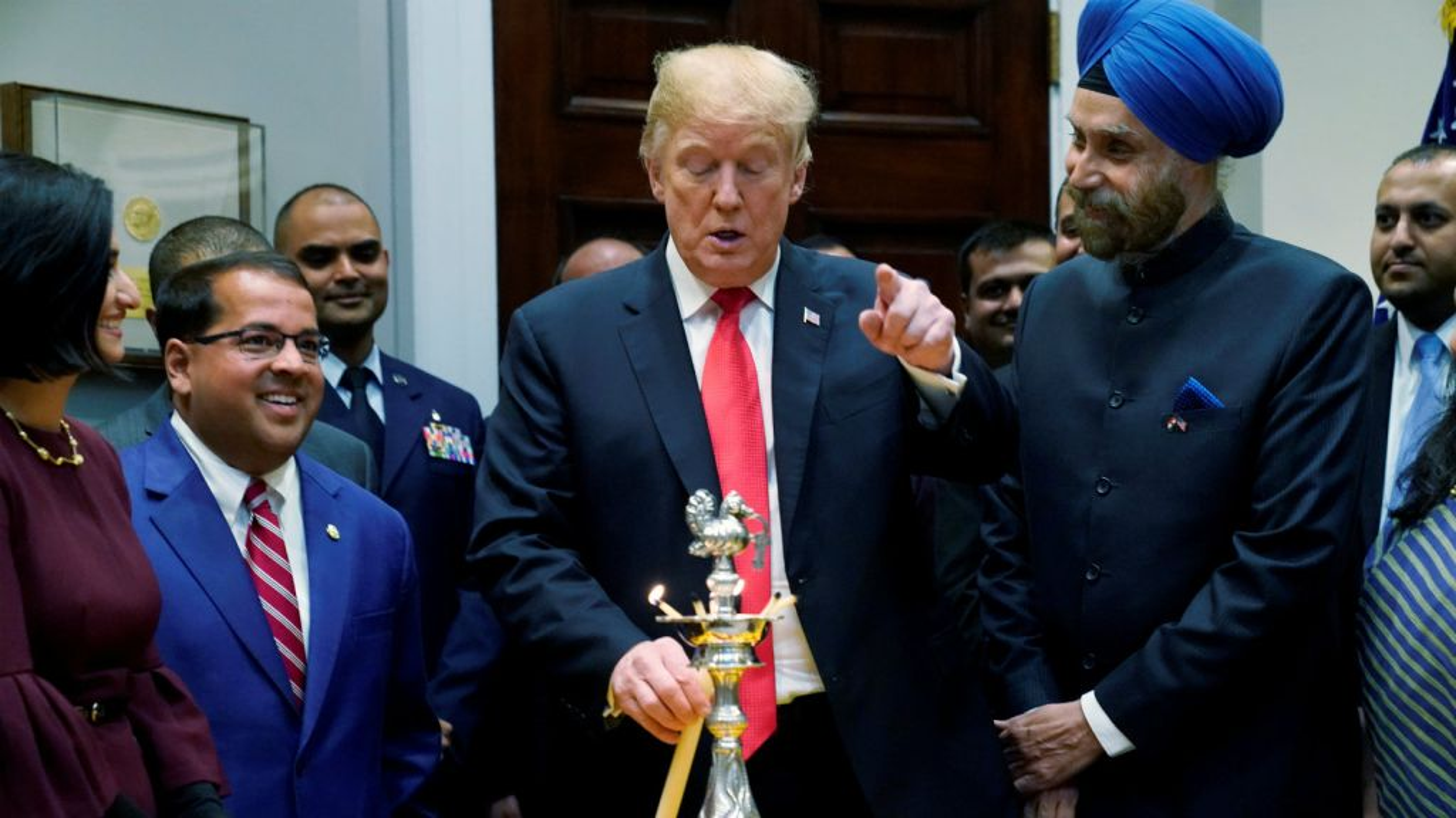 Diwali-White-House-Trump-India