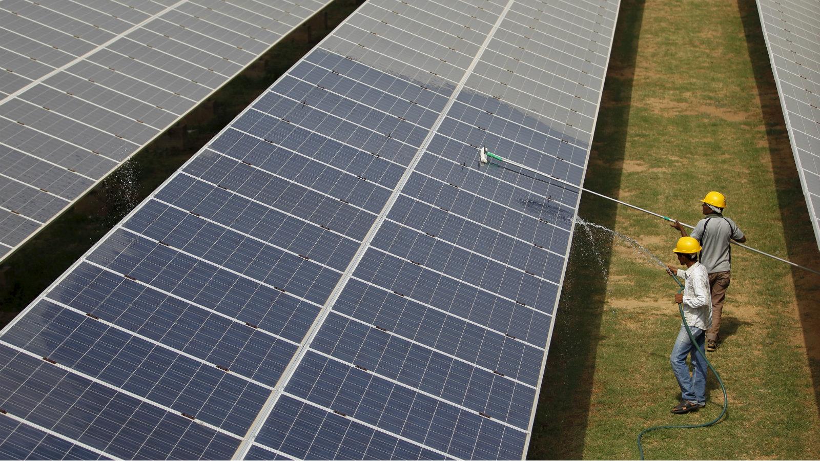 India-solar-clean-energy