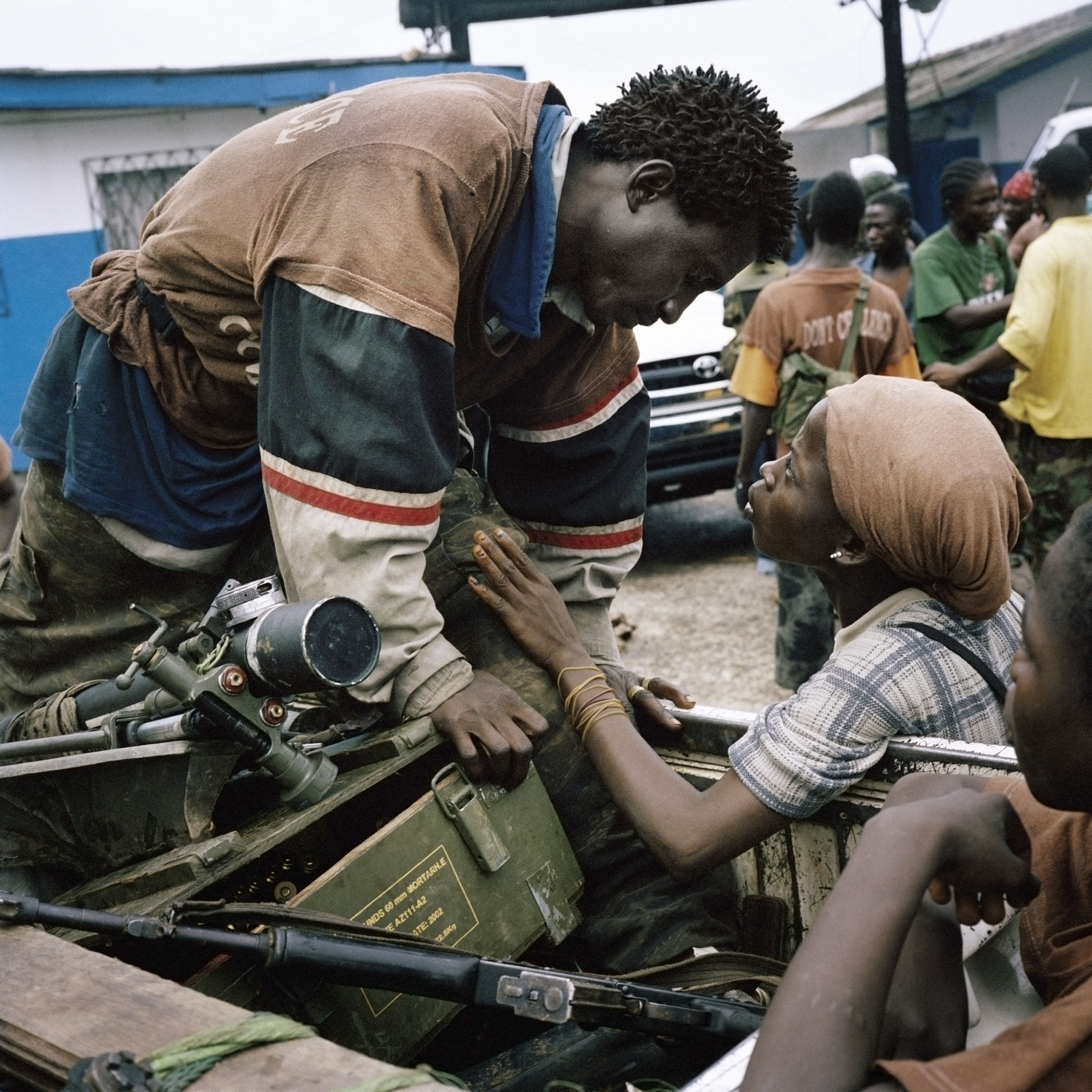 Liberia's civil war in photos, child soldiers, rape, then