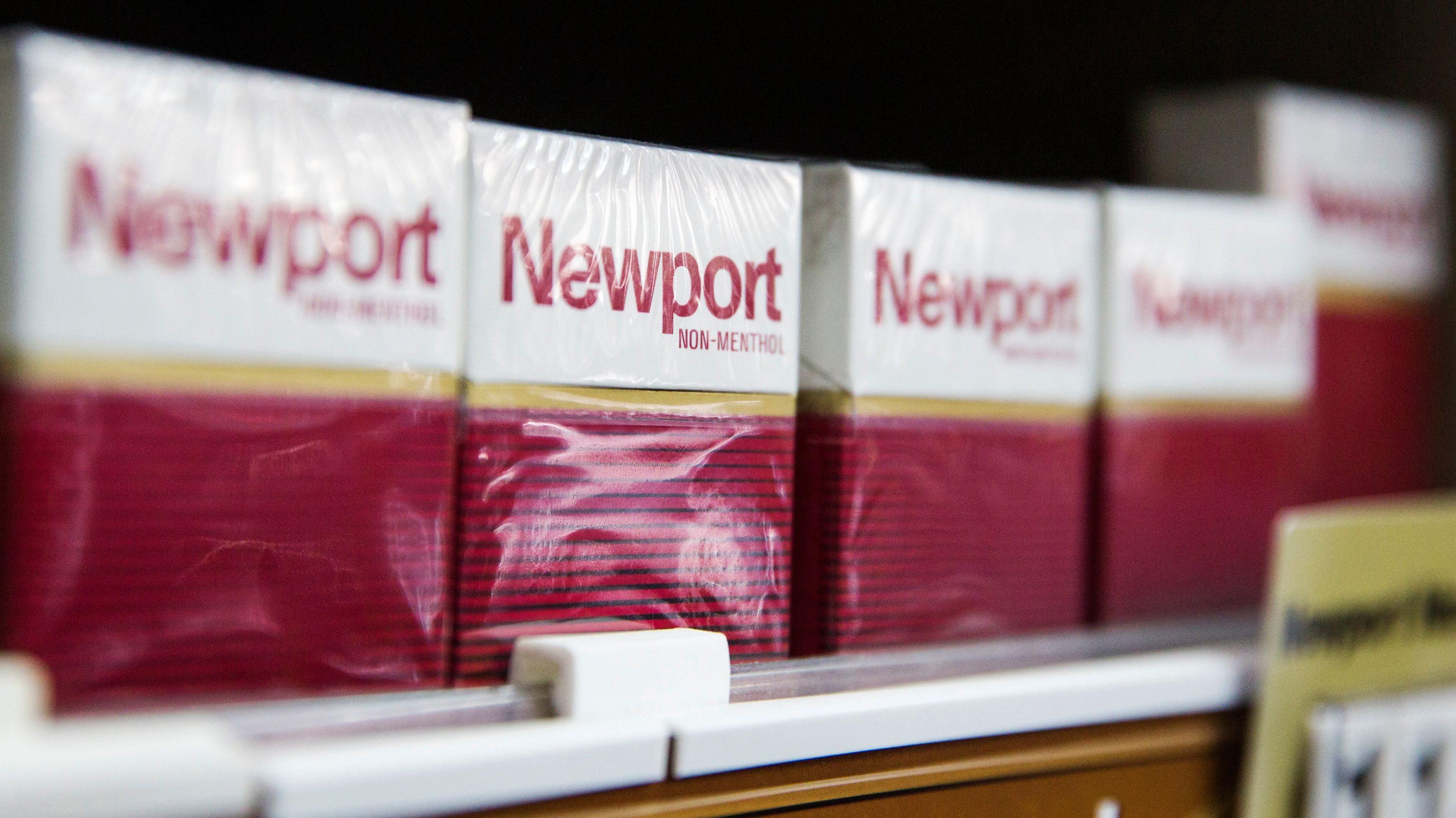 Rumors of a menthol-cigarette ban have pummeled tobacco