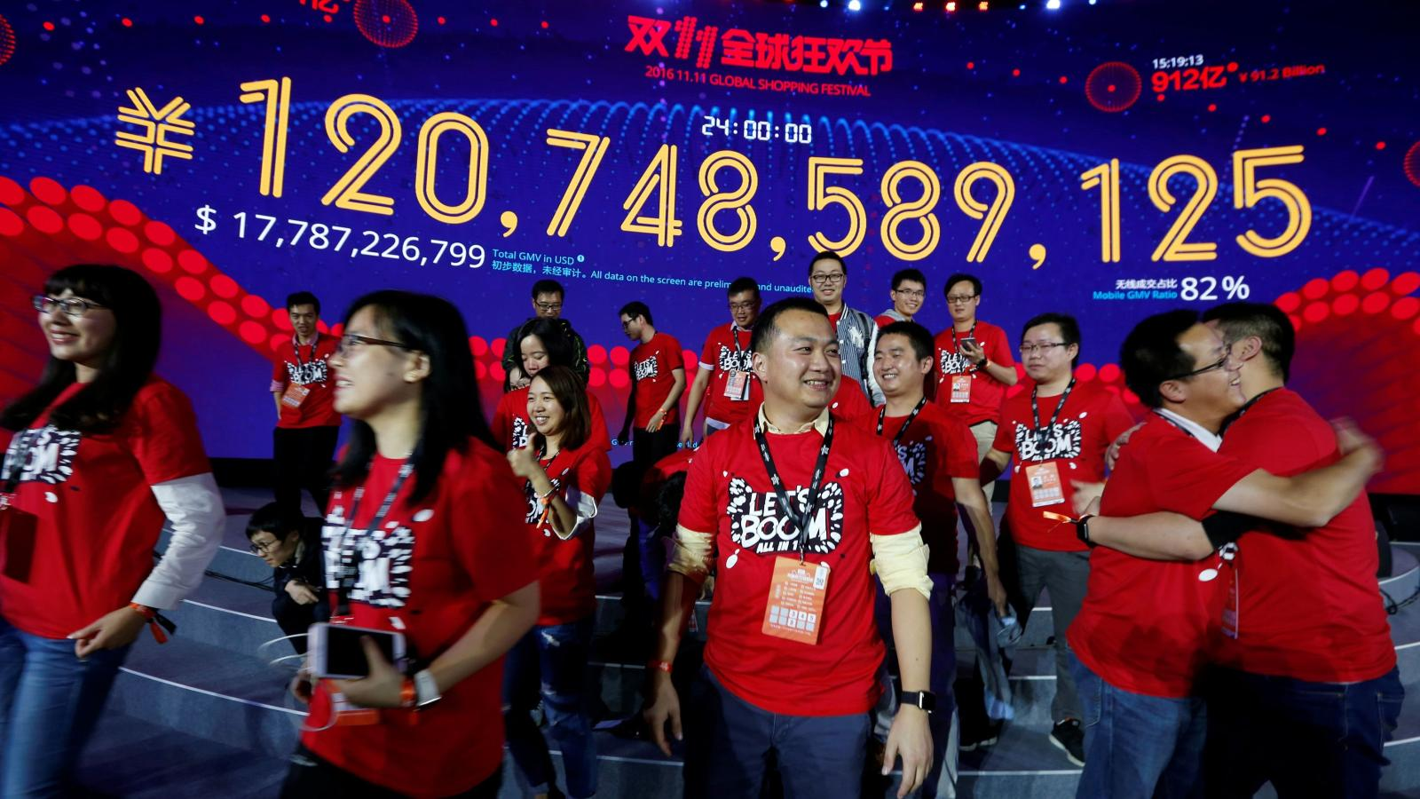 Ten years of singles day chinas ridiculously huge shopping festival