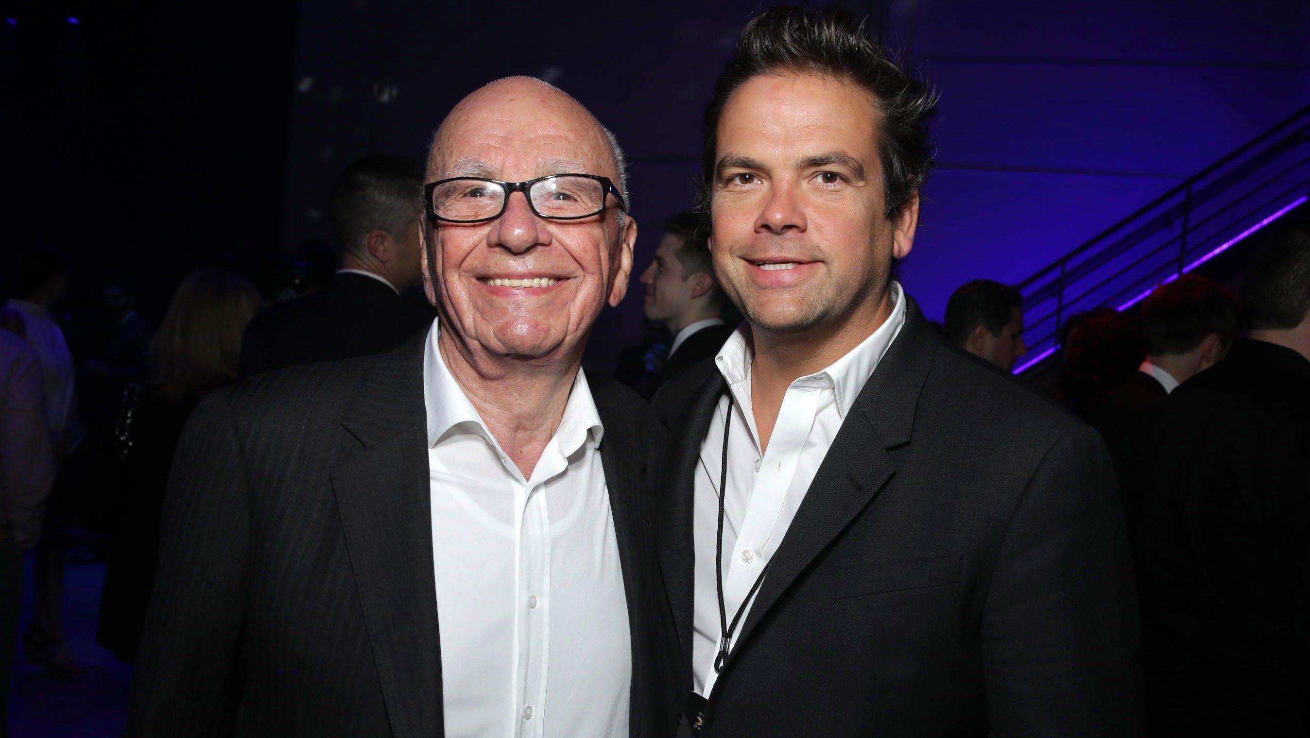 Rupert Murdoch snd Lachlan Murdoch