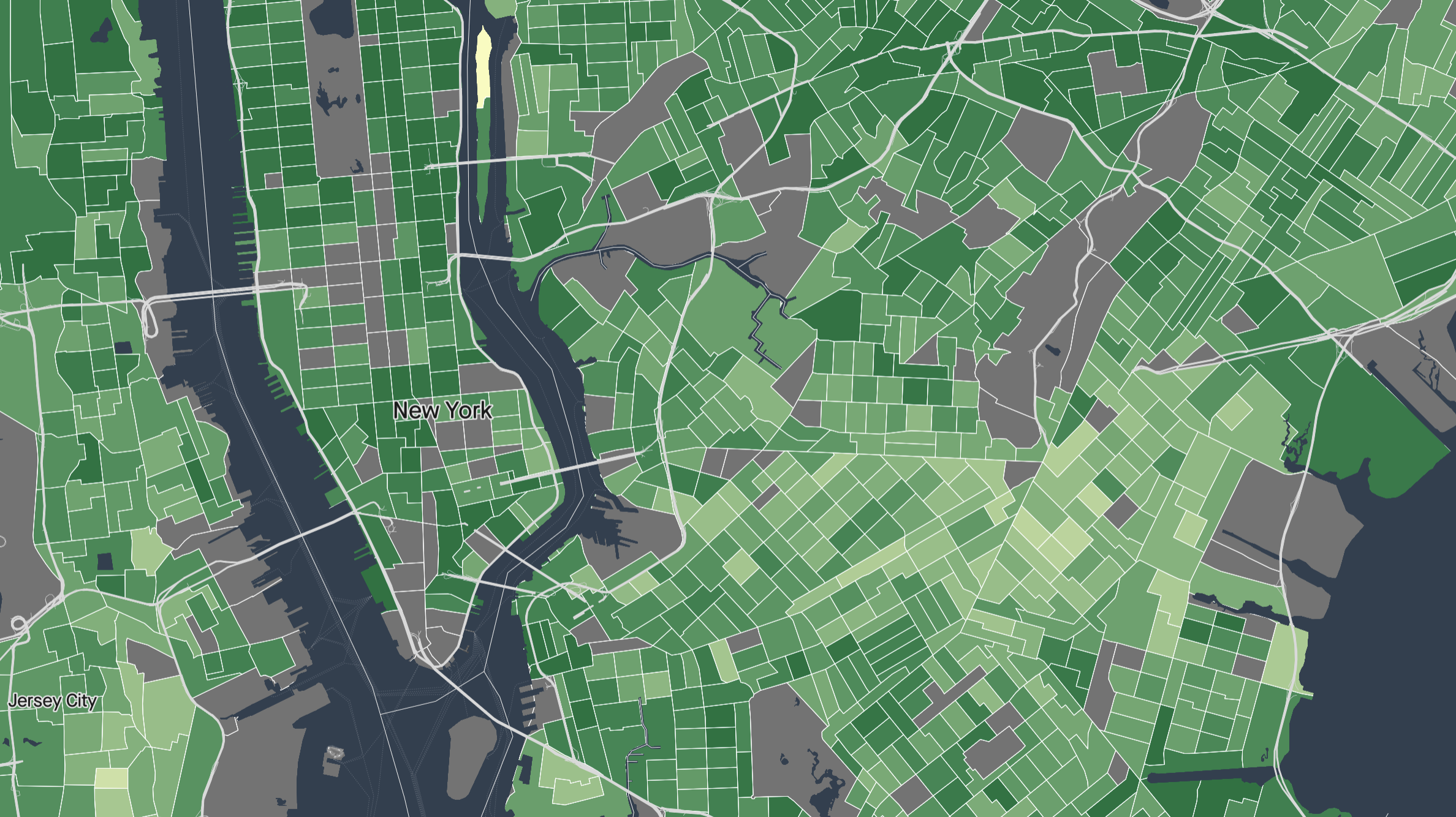 Life expectancy in the United States, mapped by neighborhood
