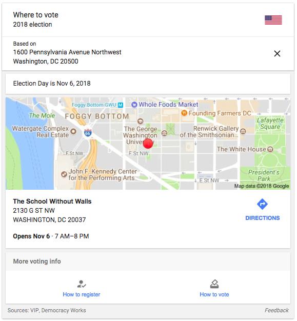 Google screen shot