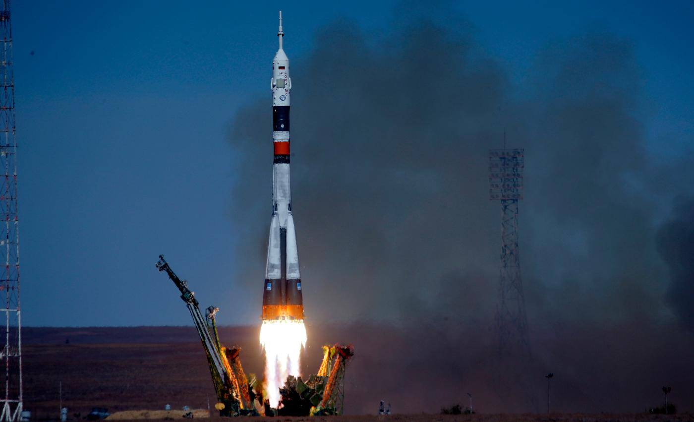 Watch The Soyuz Near-disaster