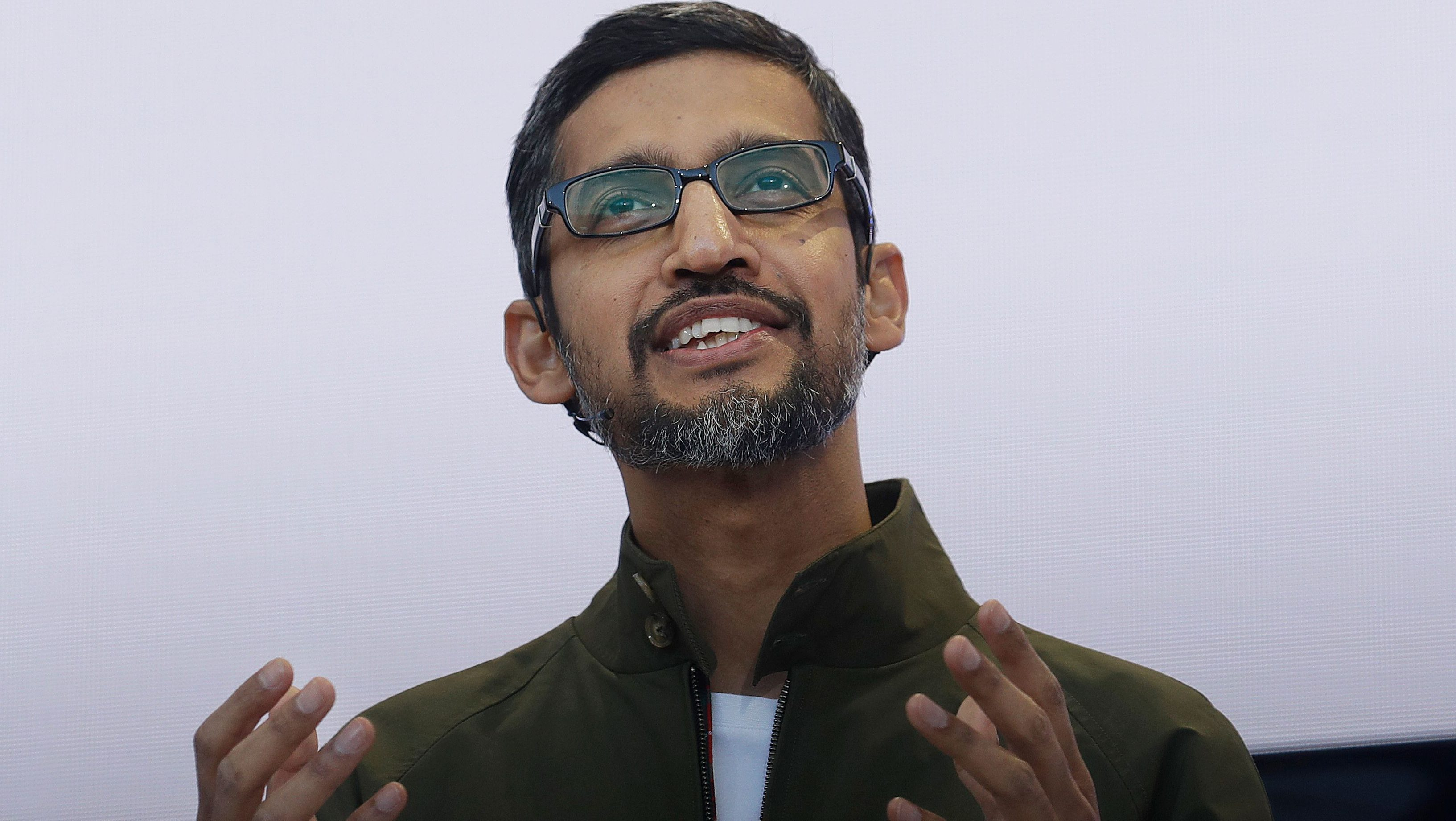 Google CEO Sundar Pichai is saying all the right things about the company's employee walkout