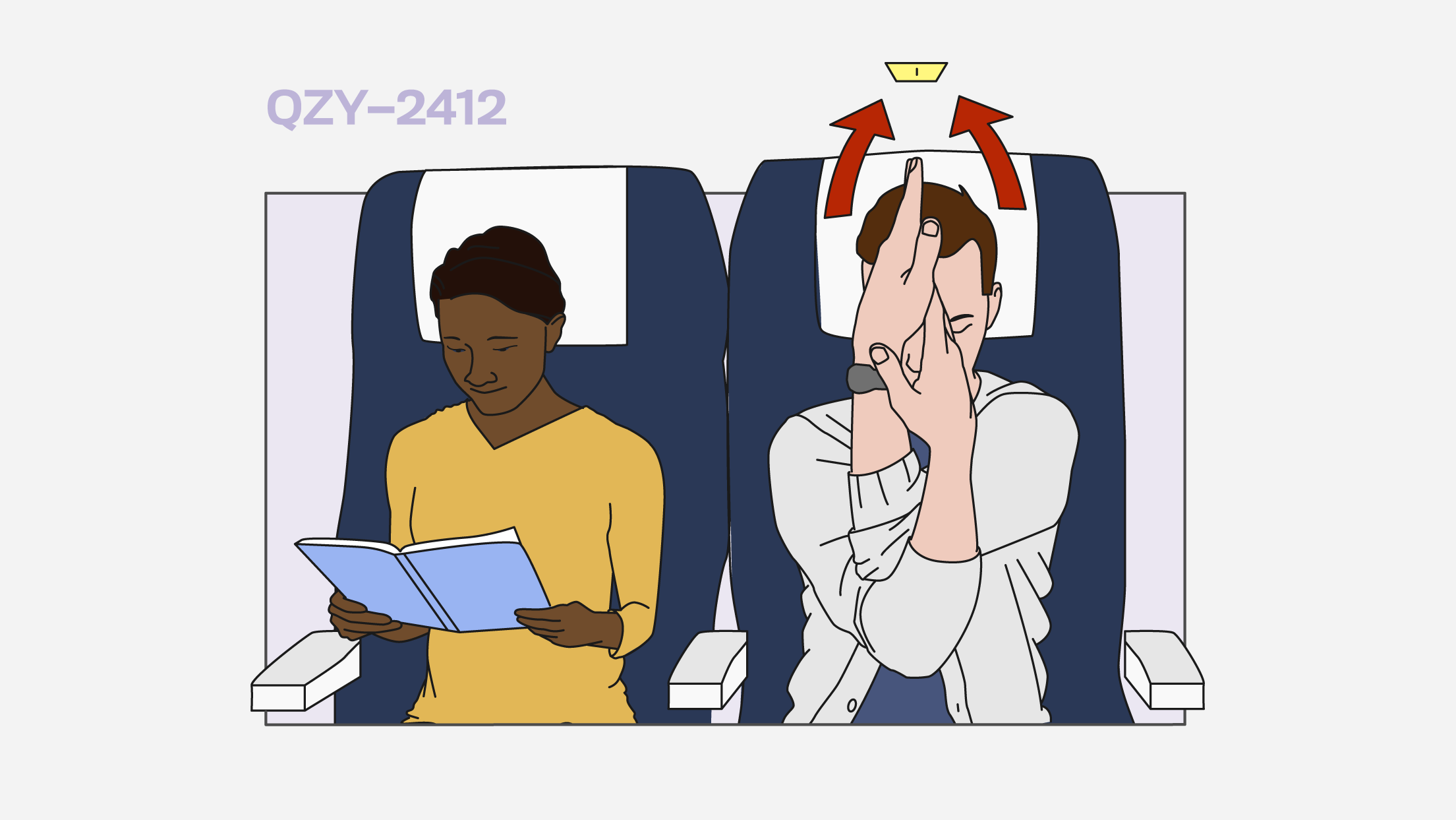 These in-flight yoga stretches help make travel less miserable