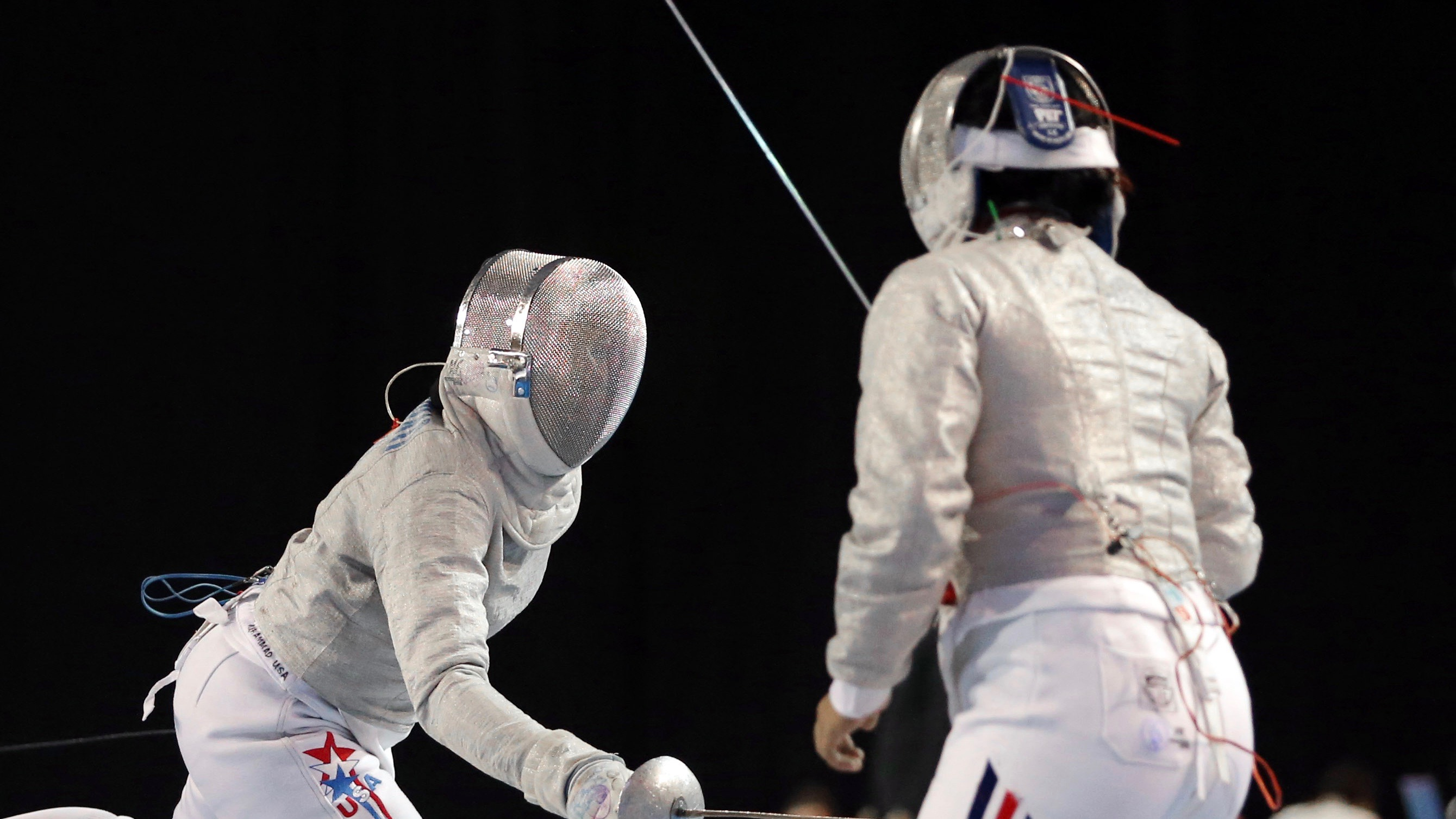 Fencing competition.