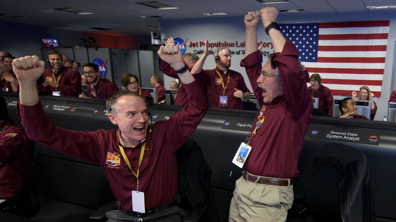 NASA Mars InSight team