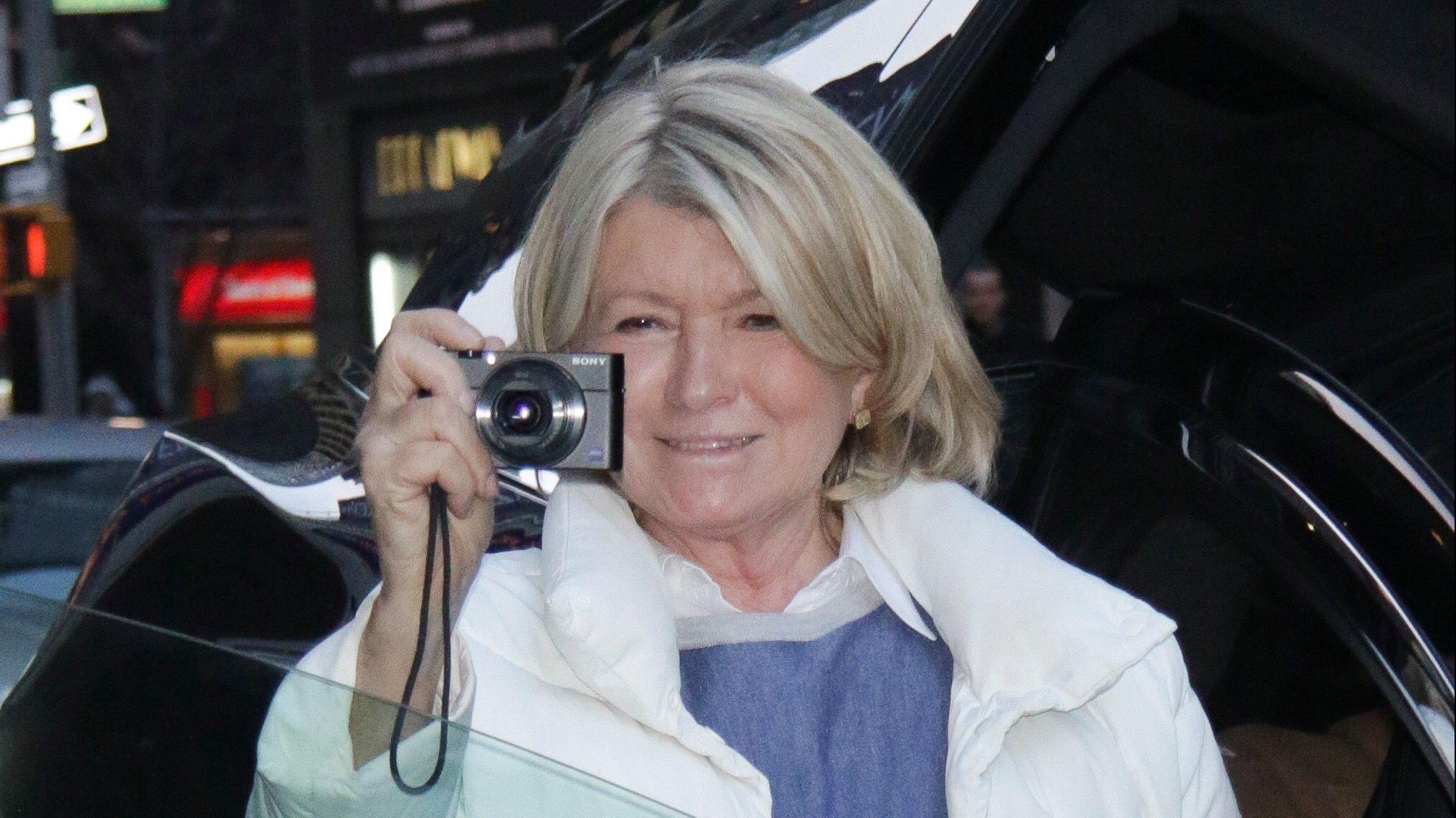 Martha Stewart S Personal Instagram Account Has No Filter Quartz