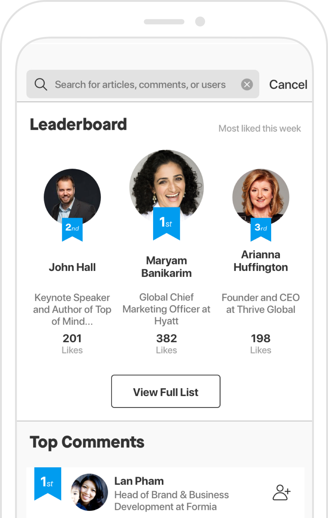 Leaderboard Screenshot