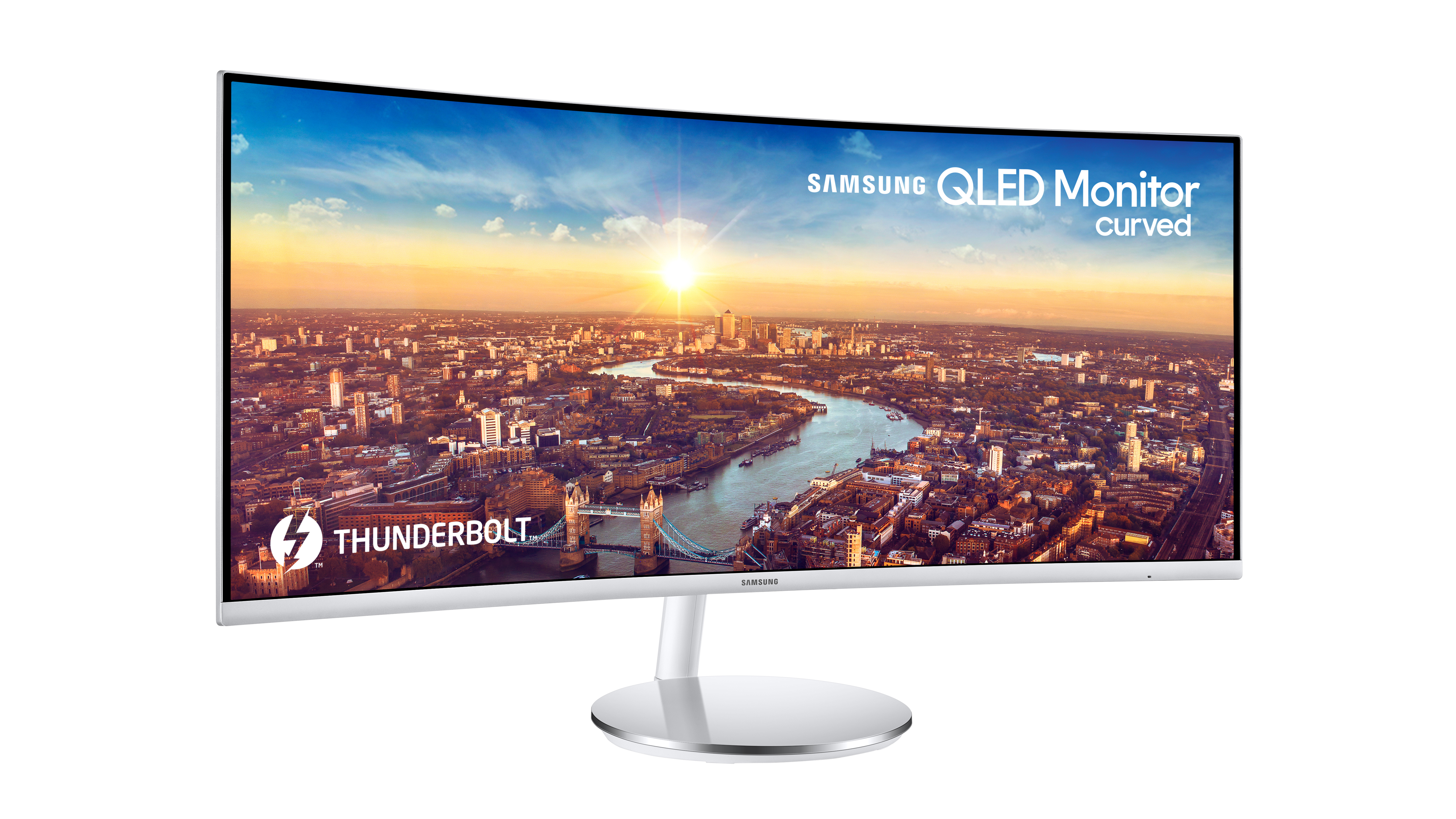 Curved monitors may save you from the tyranny of open-plan