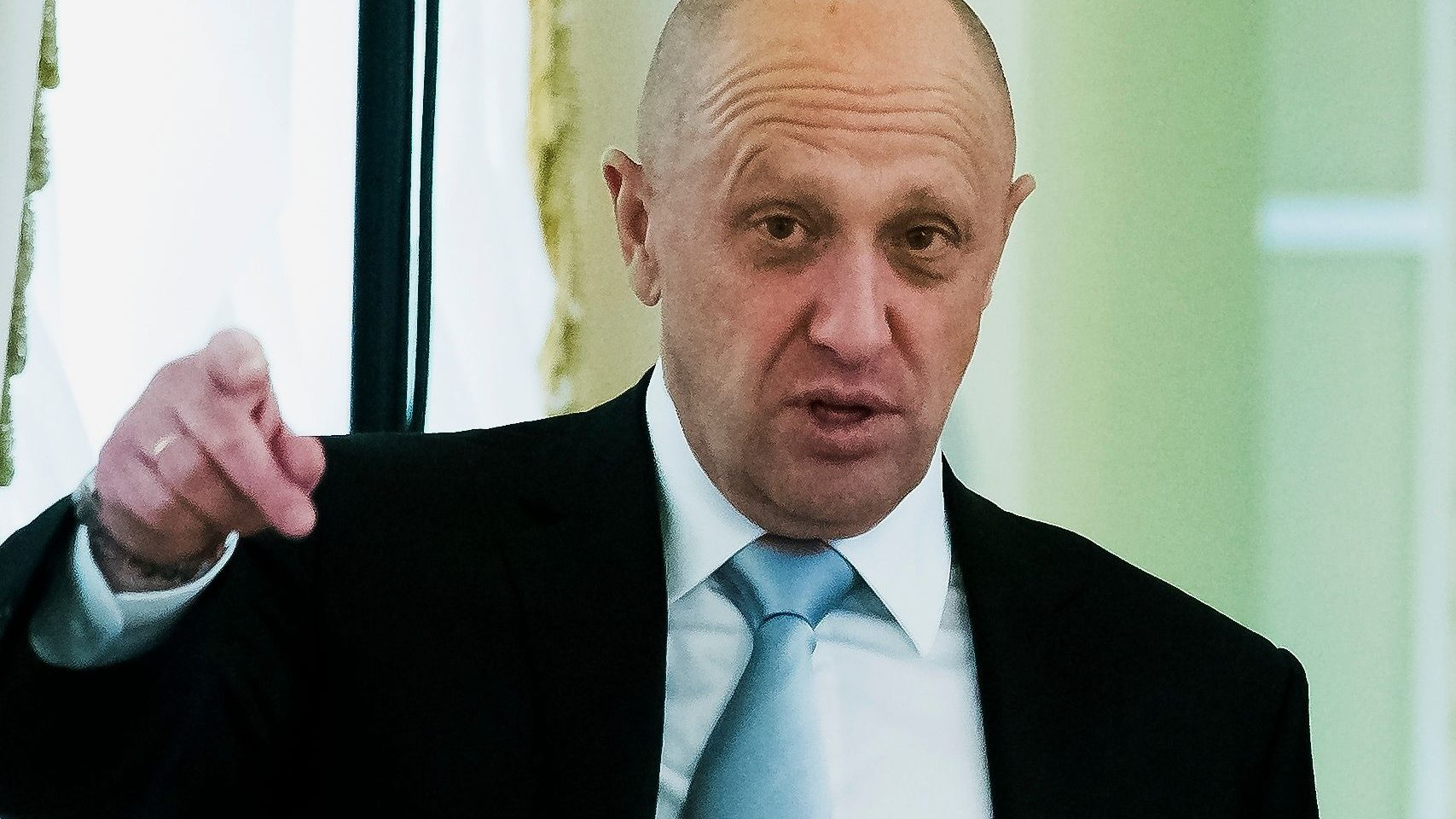 businessman Yevgeny Prigozhin, who controls Concord Management and Consulting LLC. He has ties to Putin.