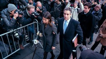 Cohen sentenced by a New York judge