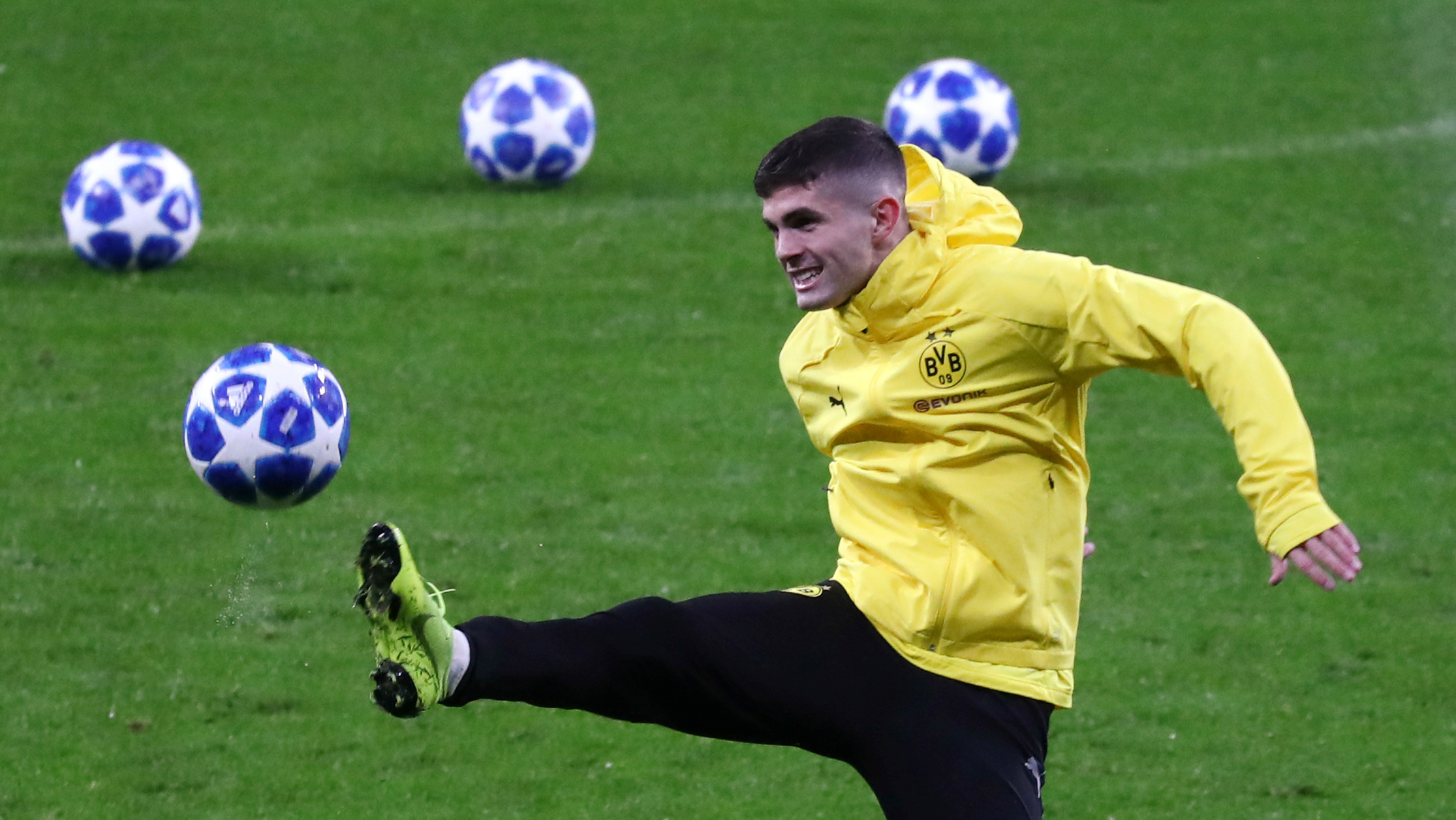 us soccer s christian pulisic likely headed to chelsea fc quartz