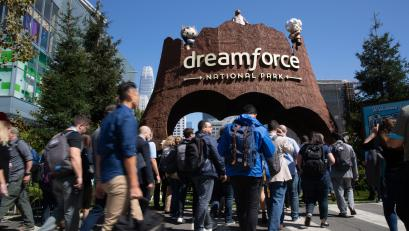 Dreamforce 2018, Salesforce.com's user and developer conference, is held at the Moscone Convention Center and various hotels in San Francisco from September 24-28, 2018.