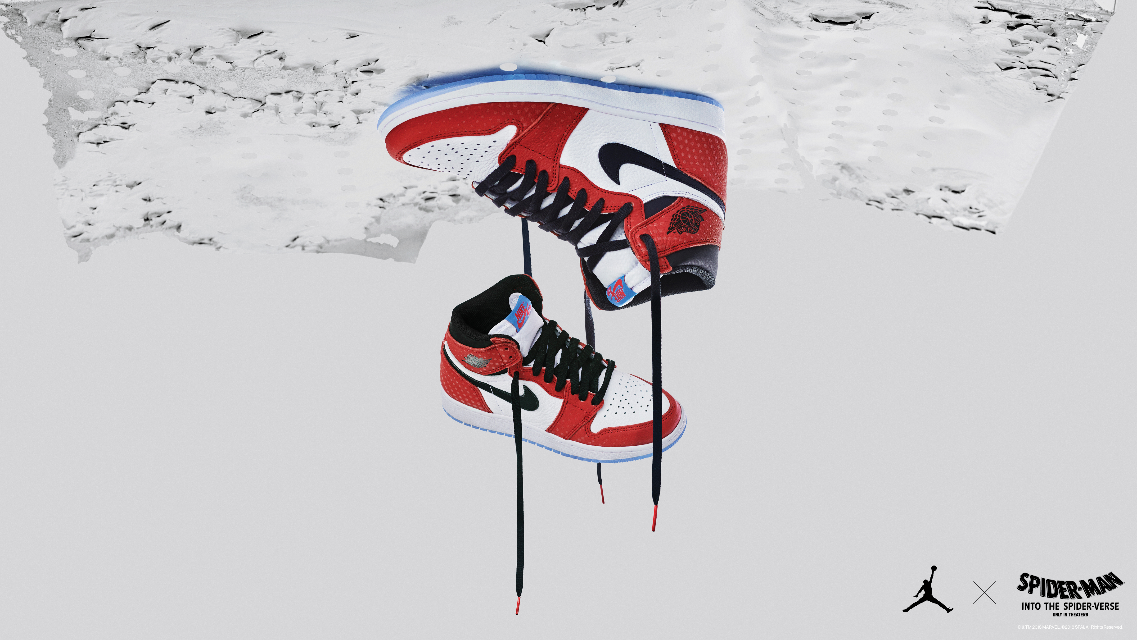 "2af8b894ec73e How Air Jordan 1s got to star in ""Spider-Man: Into the Spider-Verse ..."