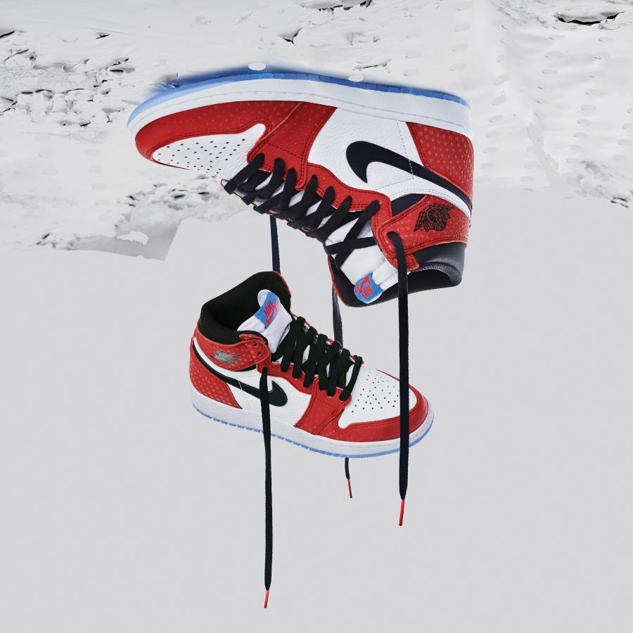 """best selling release date: best sell How Air Jordan 1s got to star in """"Spider-Man: Into the ..."""
