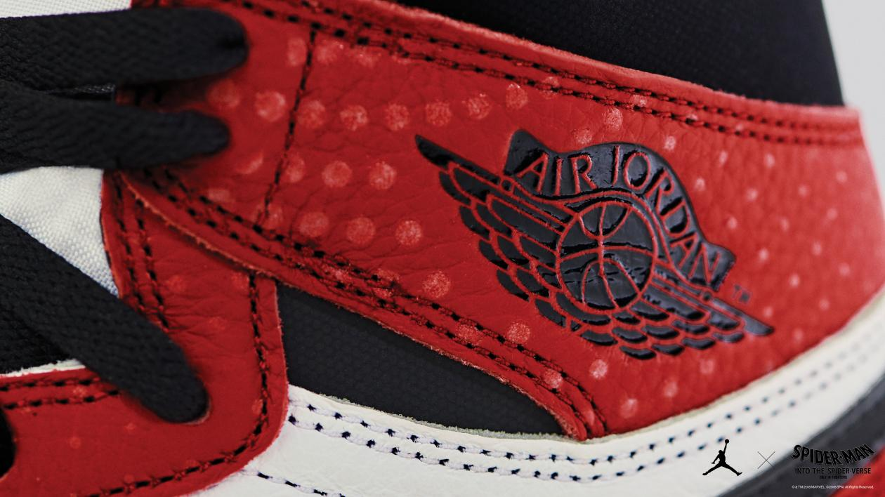 """14f2fad57acd How Air Jordan 1s got to star in """"Spider-Man  Into the Spider-Verse ..."""
