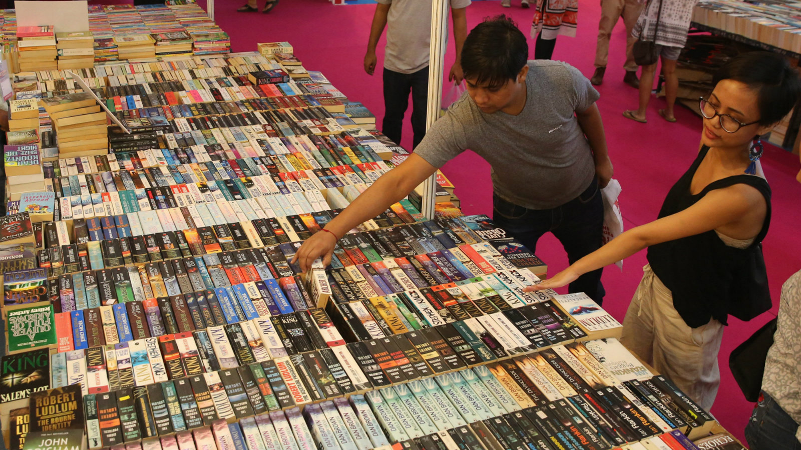 India-books-reading