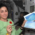 nicole stott painting in space