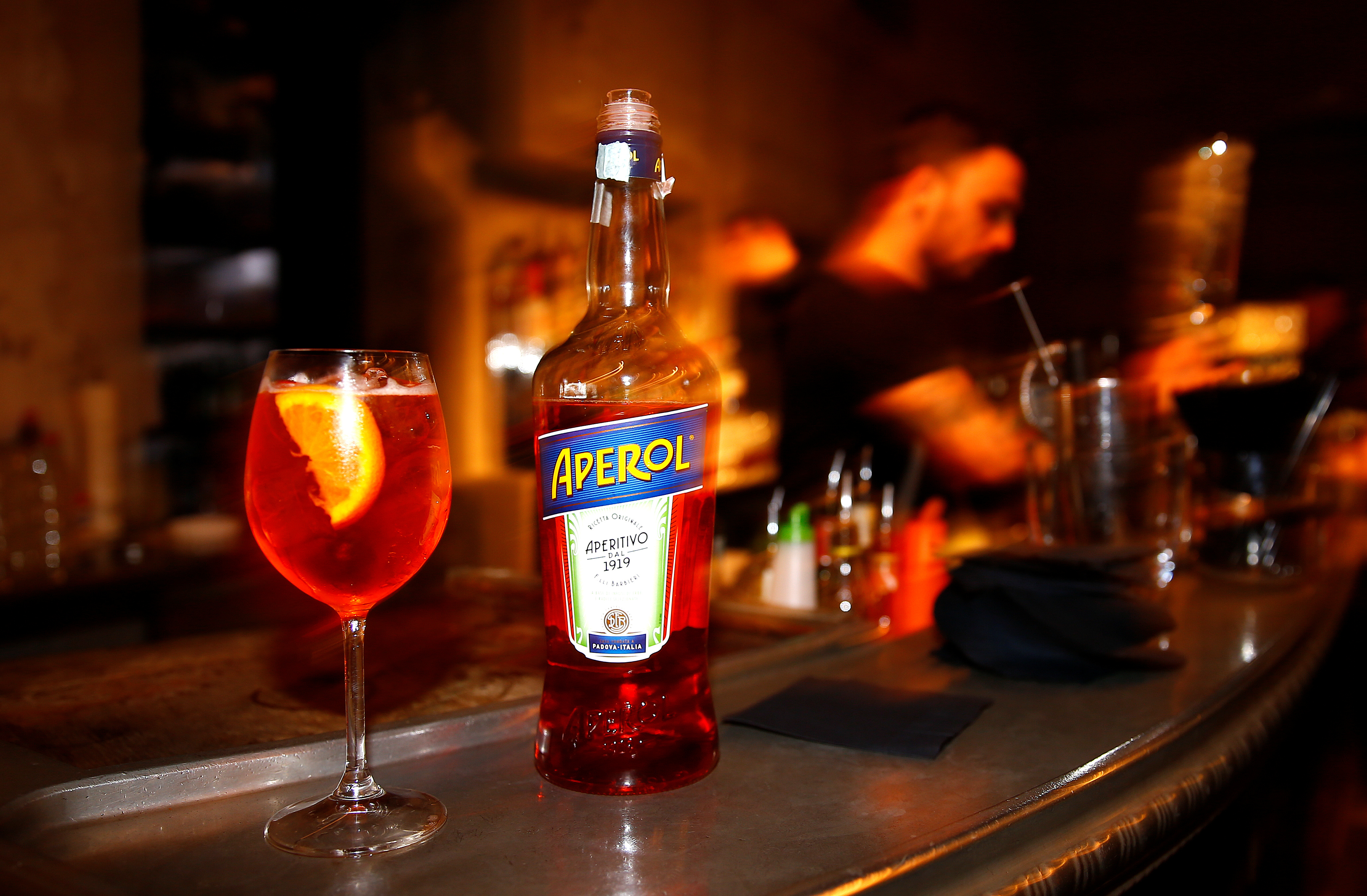 As Aperol spritz fatigue sets in, the fight to sell the next big drink is already underway