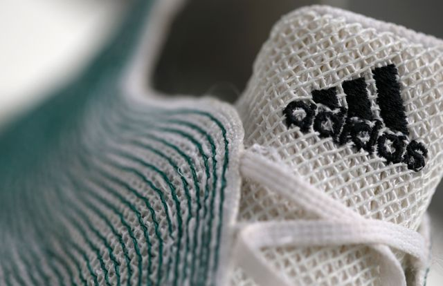 Adidas expects to sell 5 million pairs of shoes made from ocean plastic this year