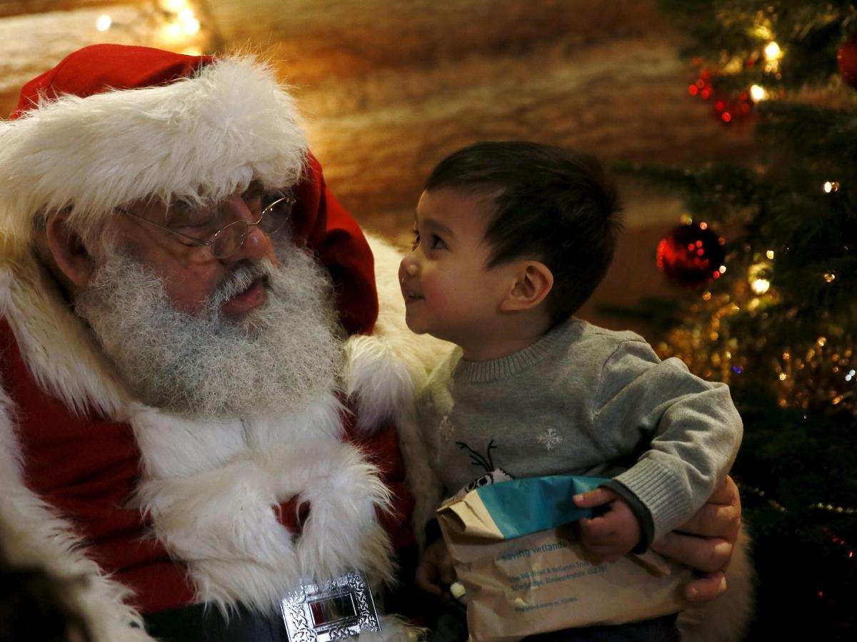 What To Say When Your Child Asks Is Santa Real Quartz